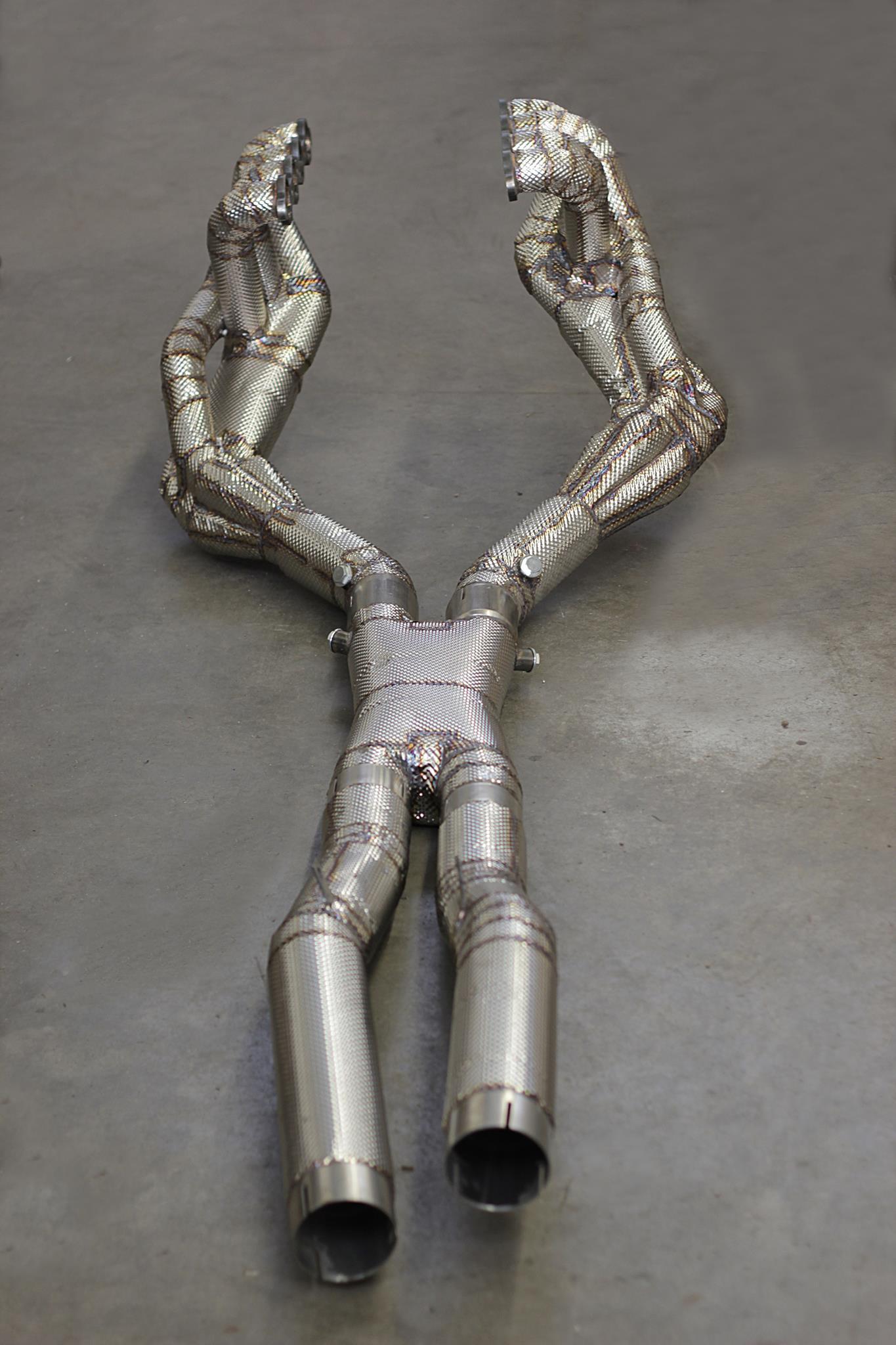Thermoisolierung - V8 Komplettanlage
