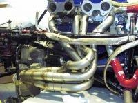 Einzelanfertigung - Fächerkrümmer und Auspuffanlage an Formelfahrzeug
