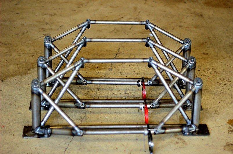 Schweißarbeiten - Crashbox SAM - Motorsport