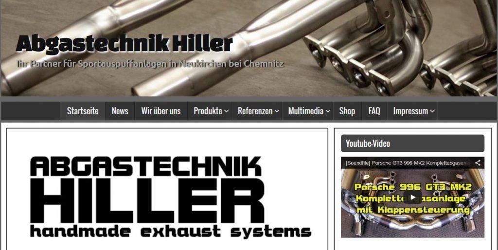 Abgastechnik Hiller - Homepage
