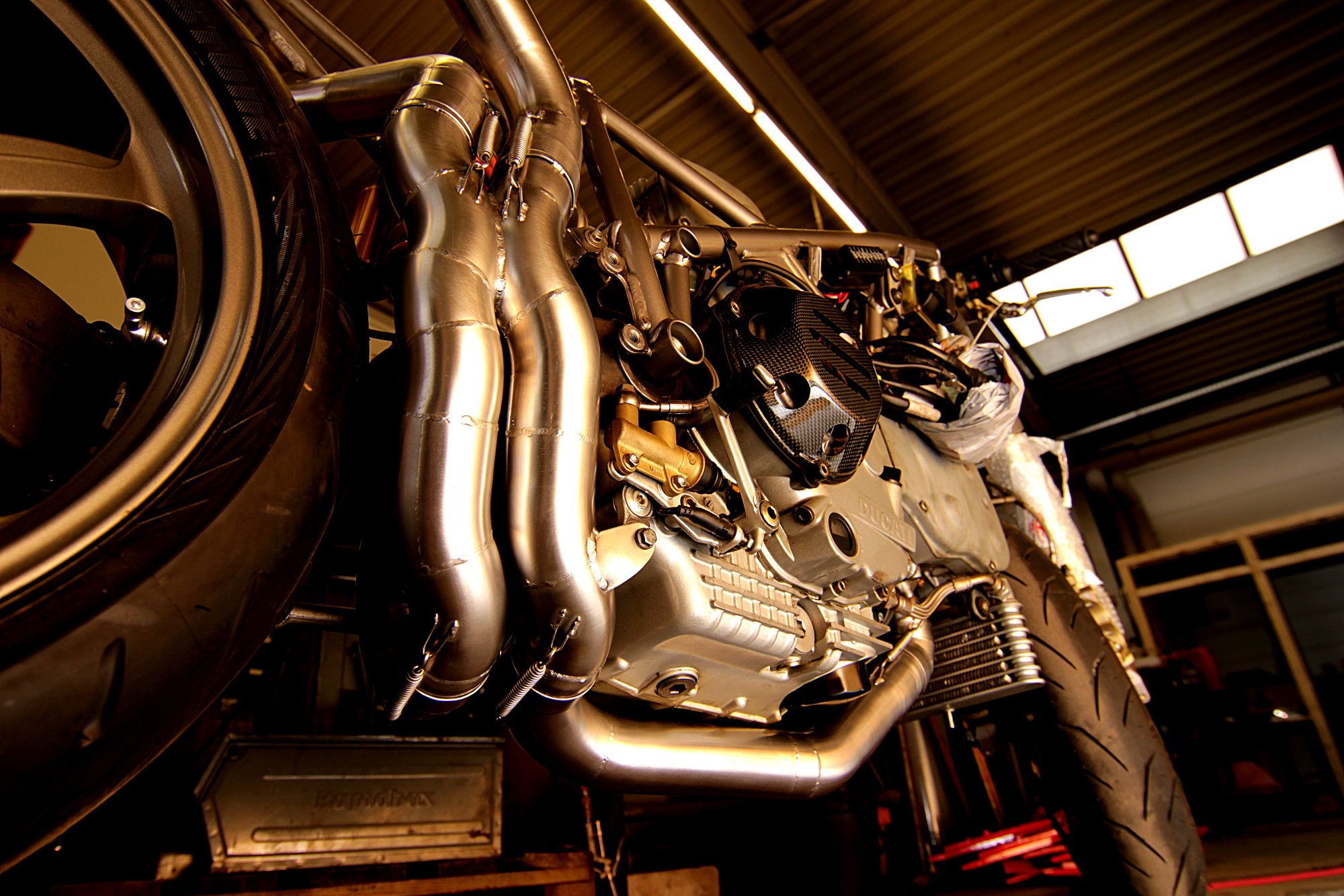 Komplettabgasanlage Ducati 998