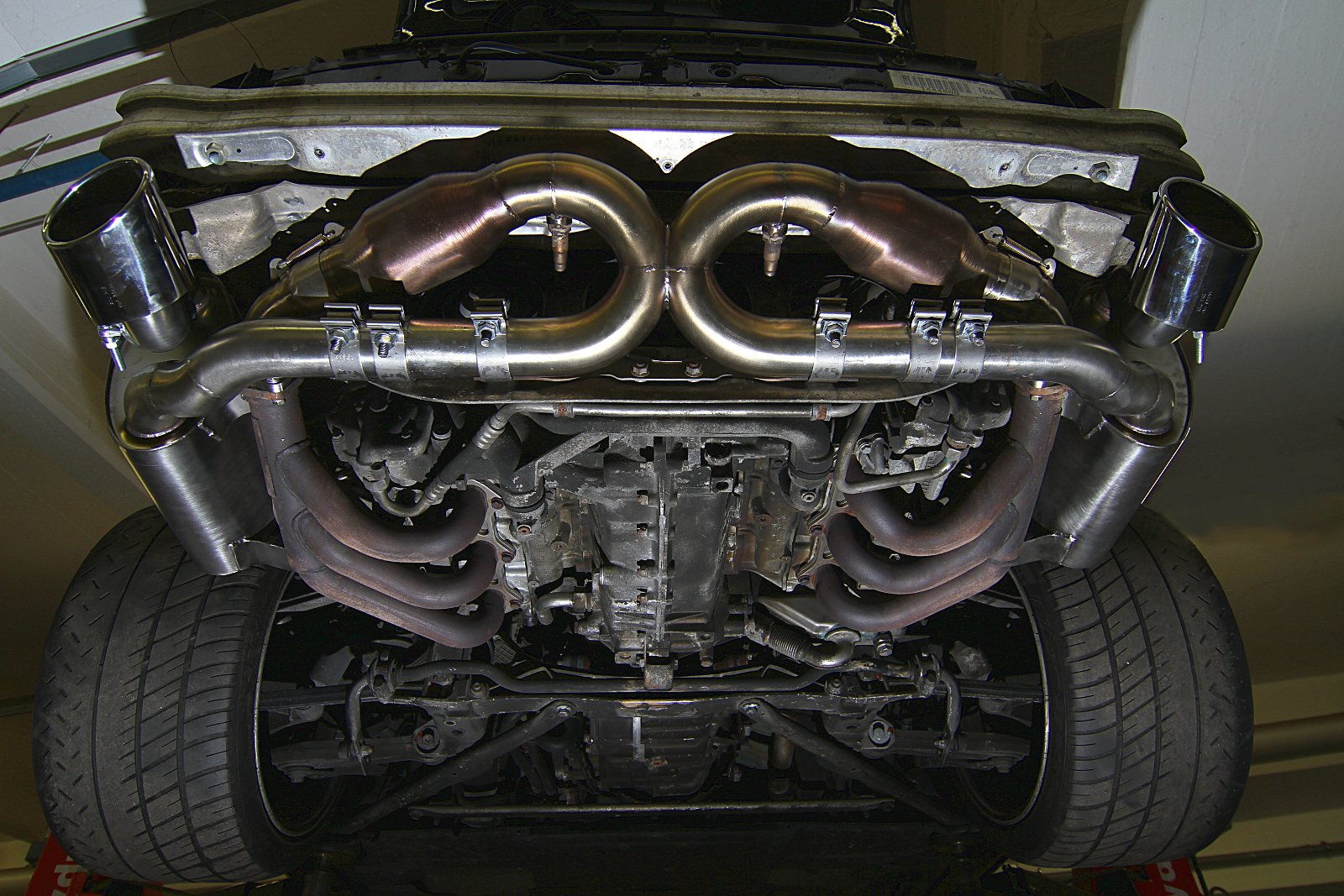 Sportabgasanlage Porsche 996 GT3