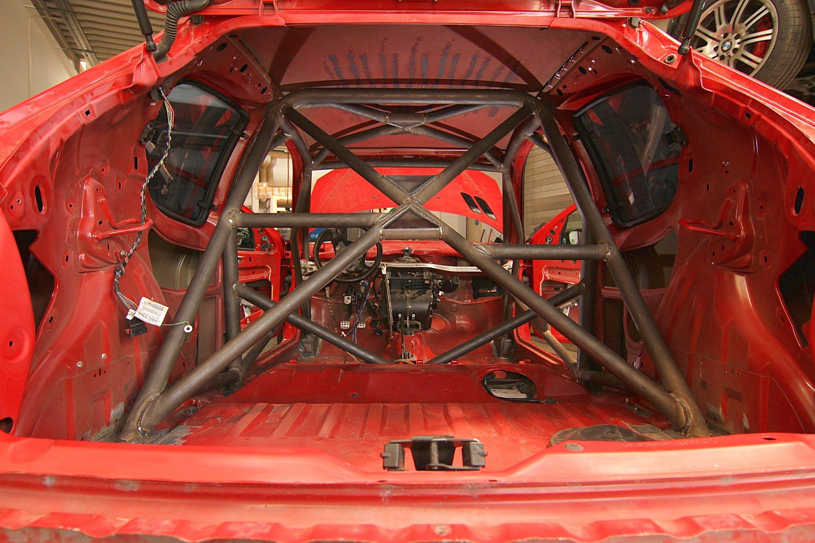 Sicherheitszelle Peugeot 206 RC Rallye