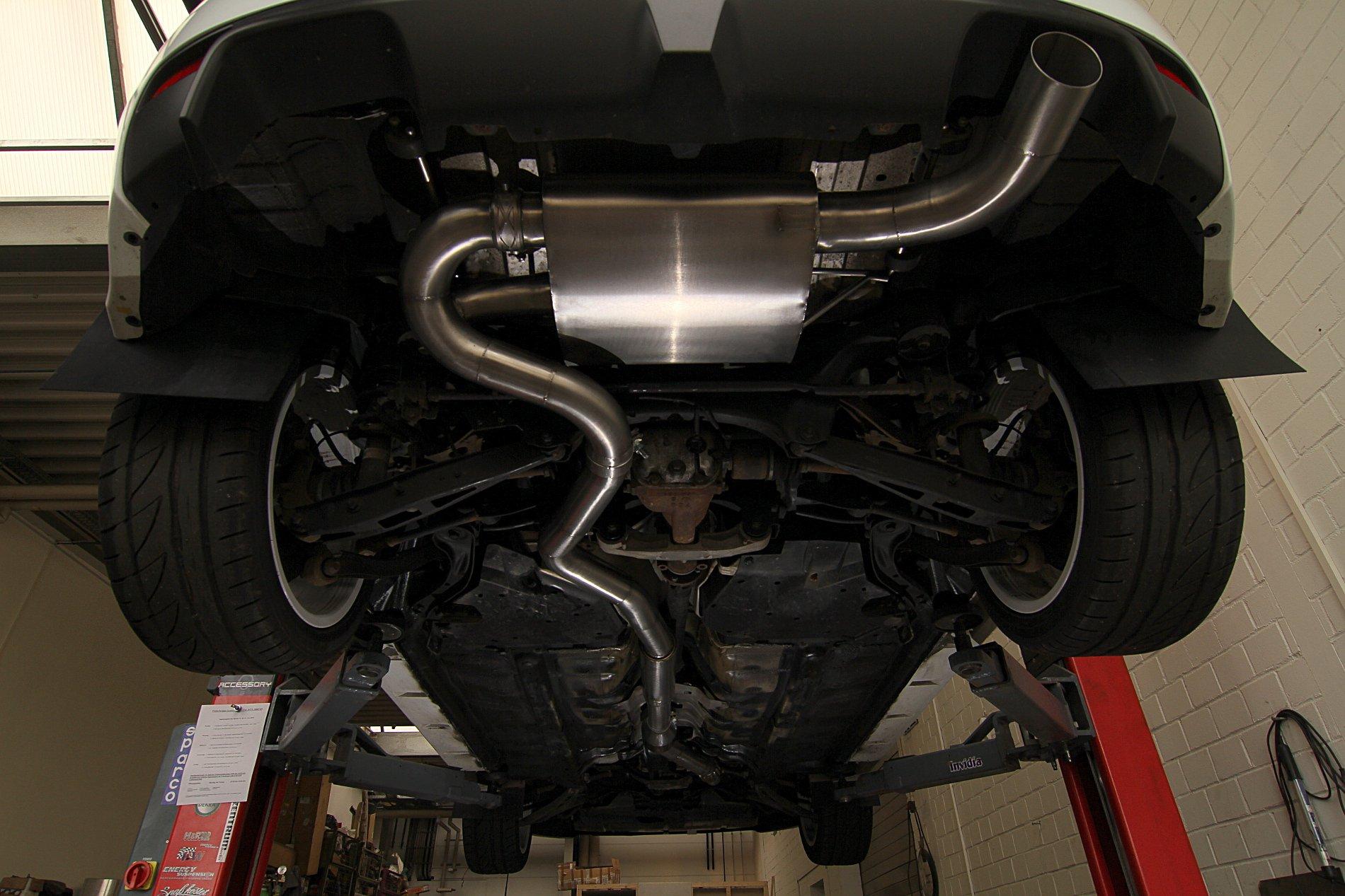 Sportabgasanlage - Subaru Impreza WRX STI