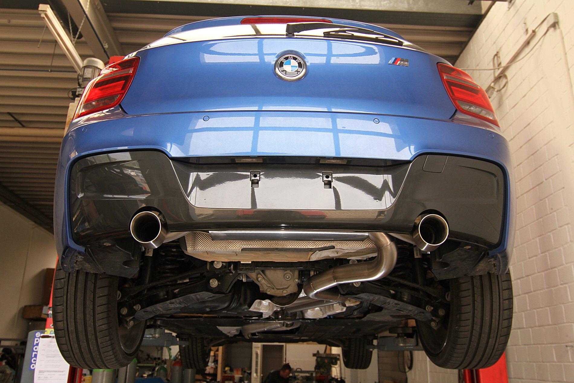 Abgasanlage ab Kat - BMW 118i M Sport 1,6 Turbo