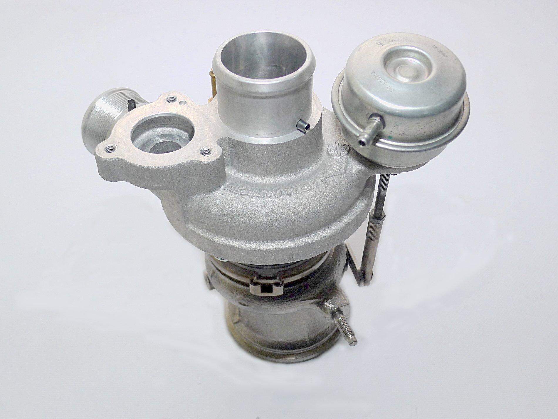 Upgrade Turbolader Fiat 500