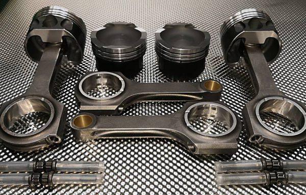 HRE Stahlpleuel & Wössner Schmiedekolben Set für Fiat 500 Abarth